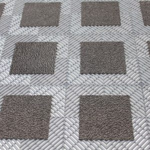 Vision Carpet Mat Grey